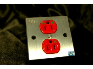 SINE正玄 SW - 2 (Audio Grade) 美式雙位冷凍插座墙插