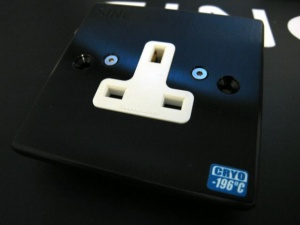 SINE正玄 SW - 1G UK英式單位冷凍插座墙插面板
