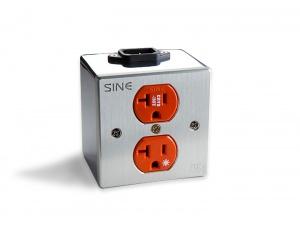 SINE SA-2P 镀黄金/白金 2位电源插座