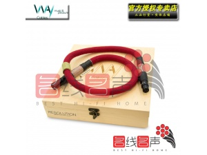 WAYCables维卡RESOLUTION 纯银 AES数码同轴线